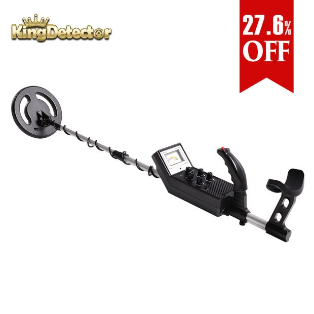 Metal Detector Treasure Hunter Gold Finder High Accurateand Waterproof for Beginner MD-3006