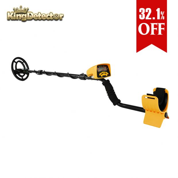 Metal Detector Treasure Hunter Gold Finder for Garden Searching High Accuracy Professional Upgraded Waterproof Underground Wedigout MD-6250