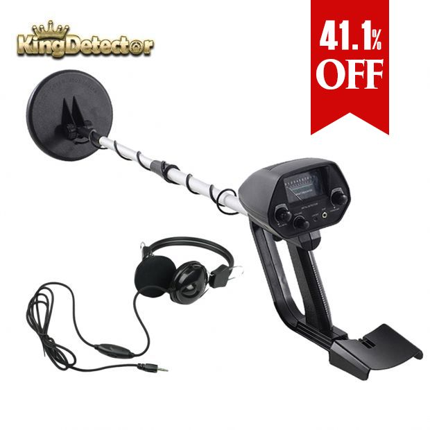 Metal DetectorTreasure Hunter Gold Finder for Beginner MD-4030 with Headphone Set 2 Pieces