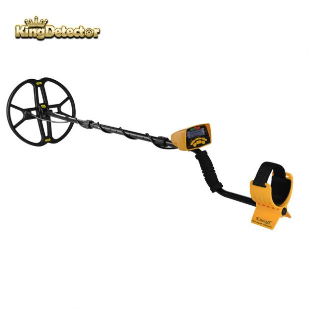Metal Detector Treasure Hunter Gold Finder High Accuracy Metal Seraching MD-6350 Special with Big Butterfly Search Coil