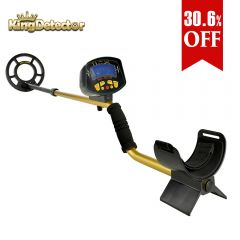 MD-3010II Hobby Upgraded Metal Detectors Color Gold