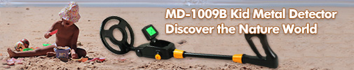MD-1009B Kid Starter Detecting Machine in Color Black