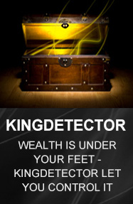 Kingdetector Professional Adventure Metal Detecting Equipment