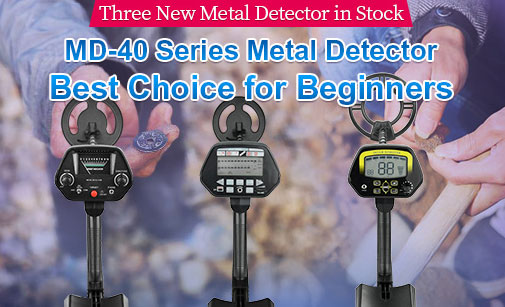 MD-40 Series Metal Detector, Best Choice for Beginners
